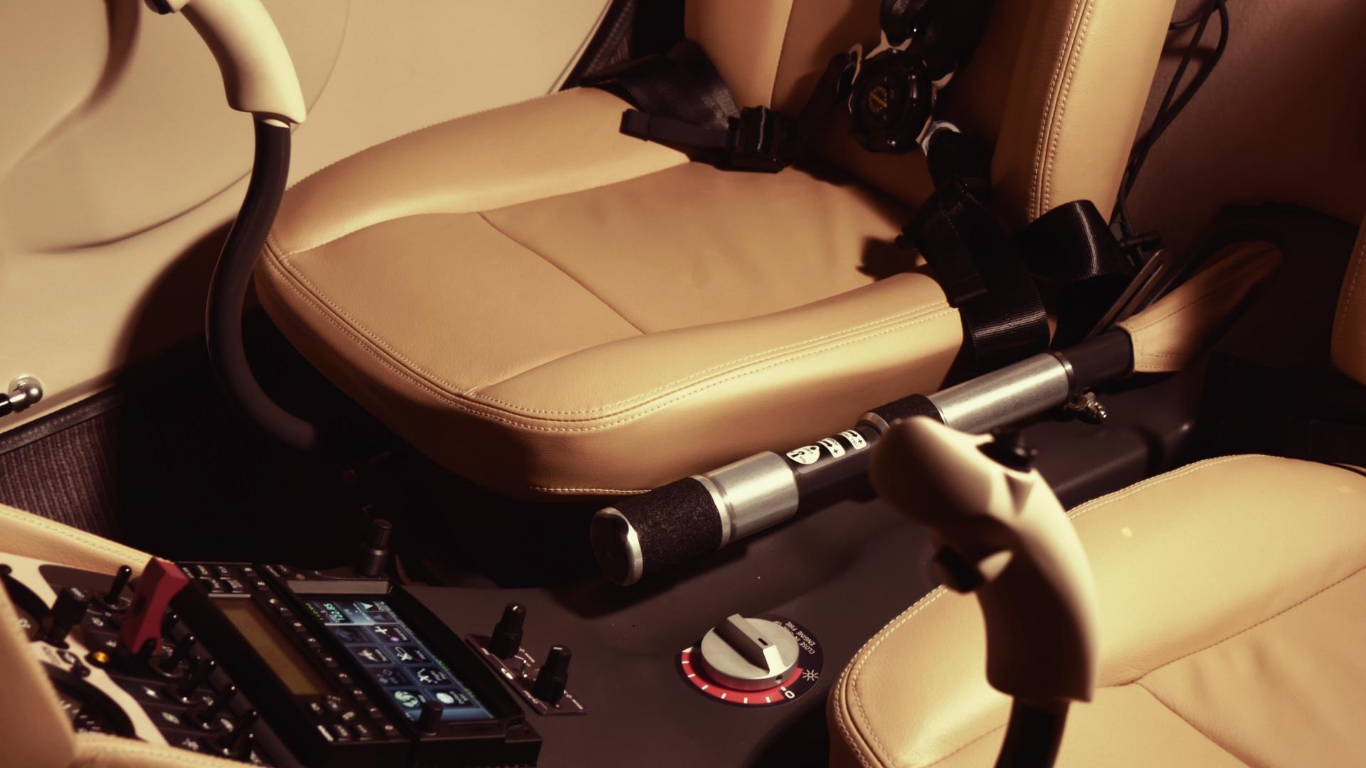 Guimbal Cabri G2 - Ergonomie et confort du pilotage