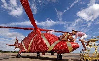 Cadeau pilotage helicoptere