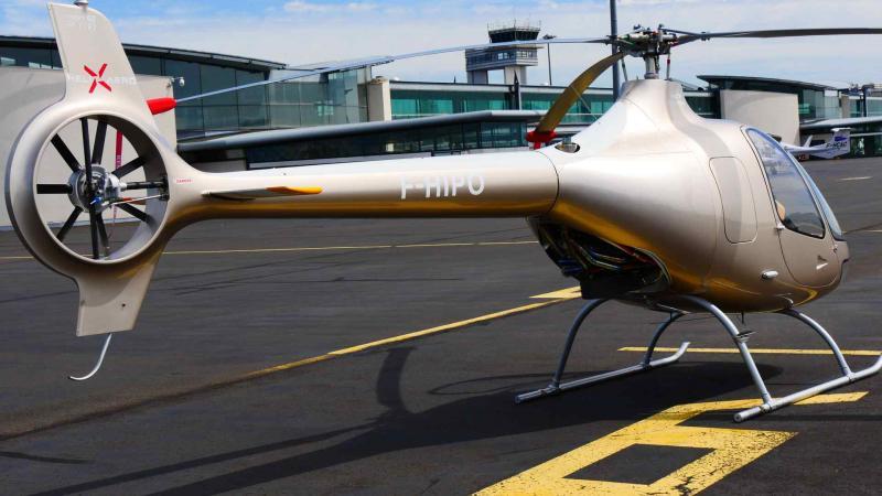 Helicoptere cabri g2 ecole pilotage helixaero 1