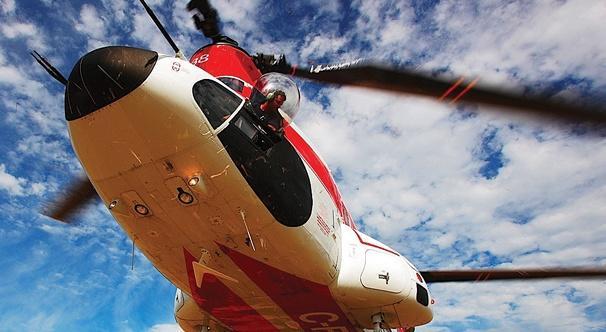 helicoptere de levage aerien