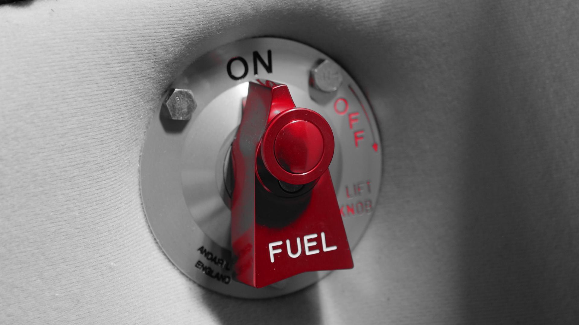 Robinet carburant Cabri G2