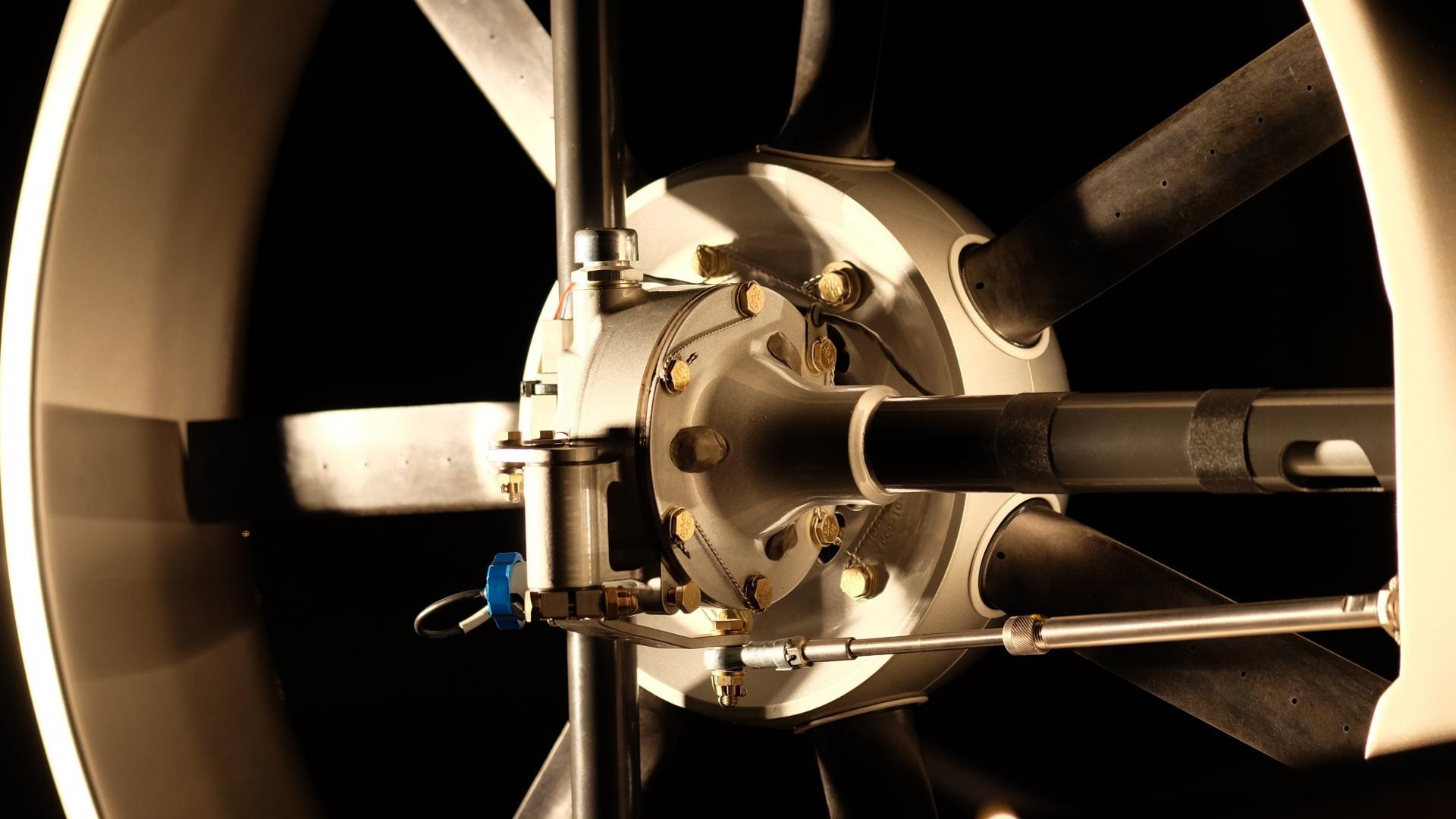 Rotor de type fenestron Cabri G2
