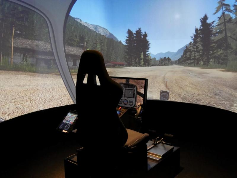 Simulateur helicoptere pilotage paris