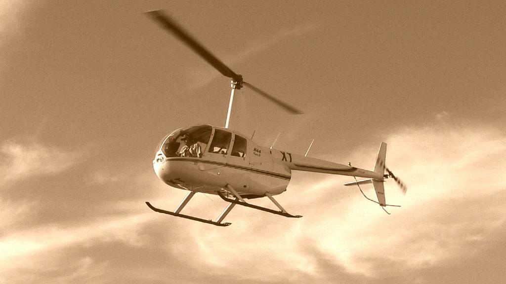 Surveillance par helicoptere