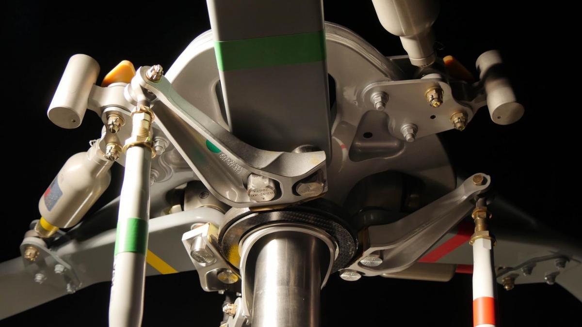 Tete rotor cabri g2