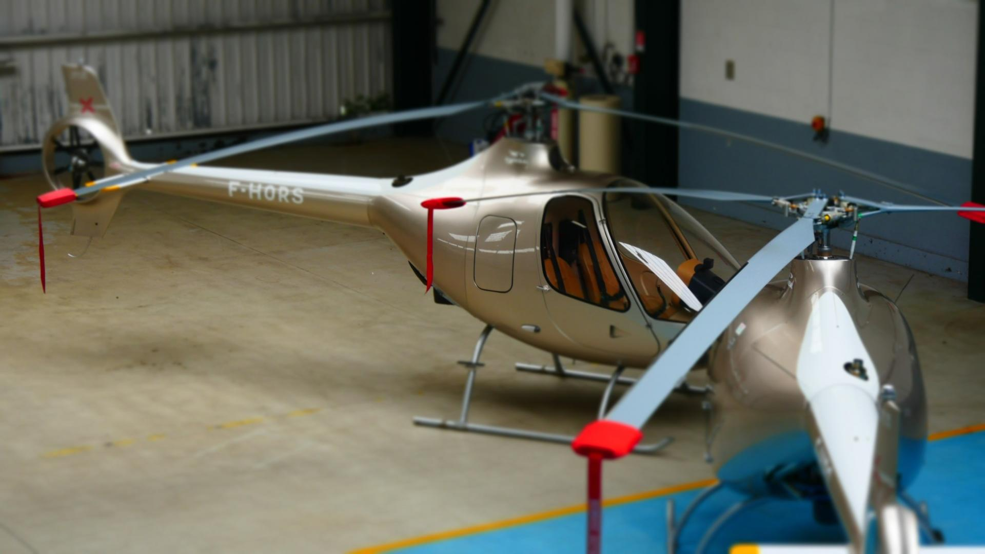 Two guimbal cabri g2