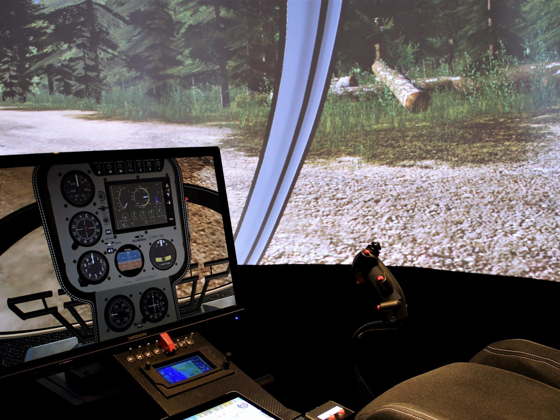 Vol sur simulateur de vol helicoptere region parisienne
